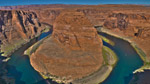 """Horseshoe Bend"" in Page, AZ, Site of a Giant U-Turn by the Colorado River"